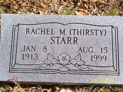 Rachel <i>Thirsty</i> Starr