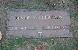Beverly J Certain