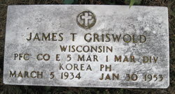 PFC James Theodore Griswold