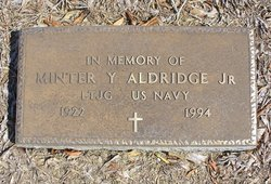 Minter Y Aldridge, Jr