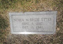 Nobya <i>McBride</i> Etter