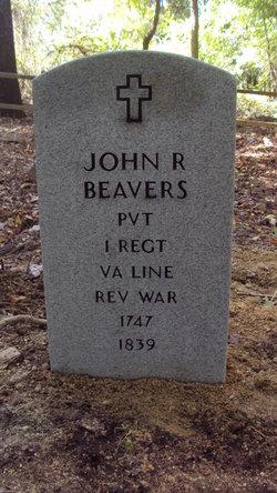 Pvt John R Beavers