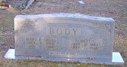 Mary E. <i>Sauls</i> Body