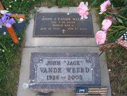 John J Jack Vande Weerd