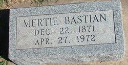 Mertie <i>Jemison</i> Bastian