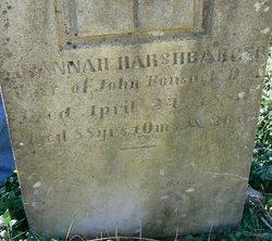 Susannah <i>Harshbarger</i> Bonsack