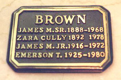 James M. Brown, Sr