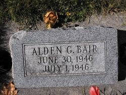 Alden G Bair