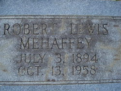 Robert Lewis Mehaffey