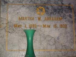 Martha W. Abraham