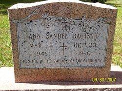 Ann <i>Sandel</i> Bautsch