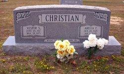 Arelia Faye Nubie <i>Caffey</i> Christian