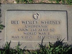Dee Wesley Whitney