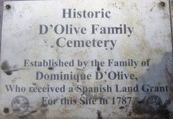D'Olive Cemetery
