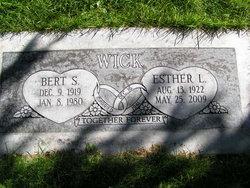 Bert Samuel Wick