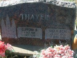 Clifford Robert Cliff Thayer