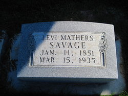 Levi Mathers Savage