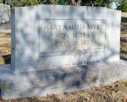 Mary Malisia <i>Magee</i> Avery