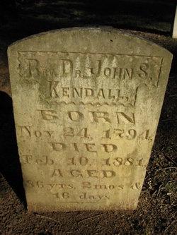 Dr John S. Kendall