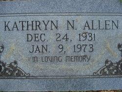 Kathryn N <i>Caskey</i> Allen