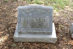 Elsie Heye