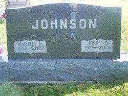 Martha M. <i>Pettit</i> Johnson