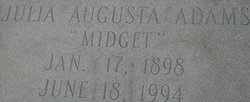 Julia Augusta Adams