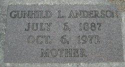 Gunhild L Anderson