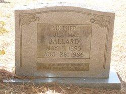 Lula Mae <i>Beckman</i> Ballard