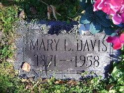 Mary Hannah <i>Lewis</i> Davis