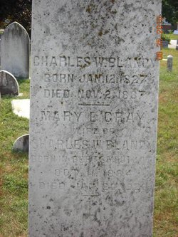 Mary E <i>Gray</i> Blandy