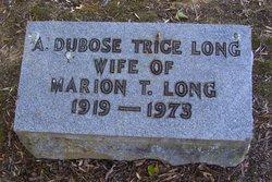 Anna Dubose <i>Trice</i> Long