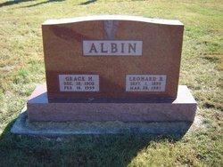 Leonard B Albin