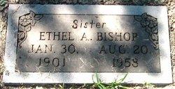 Ethel A <i>White</i> Bishop