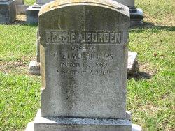 Bessie A <i>Borden</i> Billups