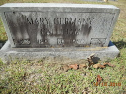 Mary Jane <i>Germany</i> Calliham