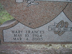 Mary Frances Pitman
