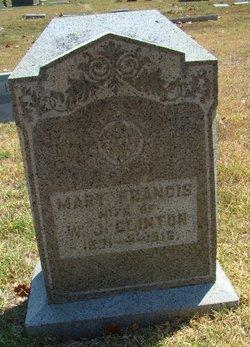 Mary Francis <i>England</i> Clinton