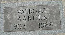 Valborg Aakhus