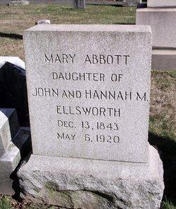 Mary <i>Ellsworth</i> Abbott