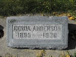 Gerda Johanna <i>Larsen</i> Anderson