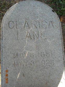Clarissa <i>Steele</i> Lane