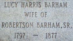 Lucy <i>Harris</i> Barham