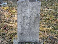 Wallace McCleley Bailey