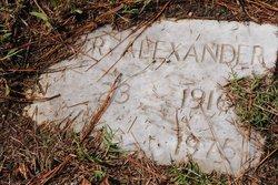 Flossie <i>Jones</i> Alexander