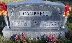 Howard W Campbell