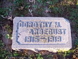 Dorothy May Arbegust