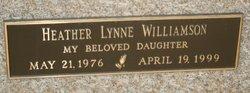 Heather Lynne Williamson