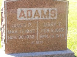 Mary T Millie <i>Campbell</i> Adams
