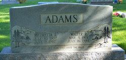 Walter R Adams